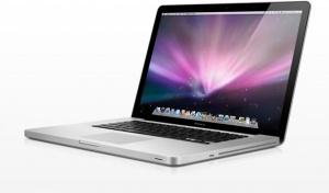 Presentatie laptop Mac.