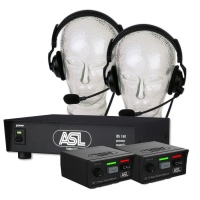 Intercomset incl. headsets ASL Bayer