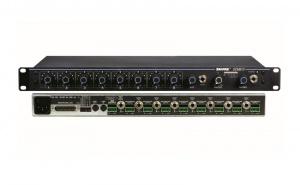 Automatische micr. Mixer 8 kan. Shure SCM 810