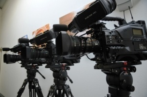 HD registratieset met 3 Sony PMW 350 camera's
